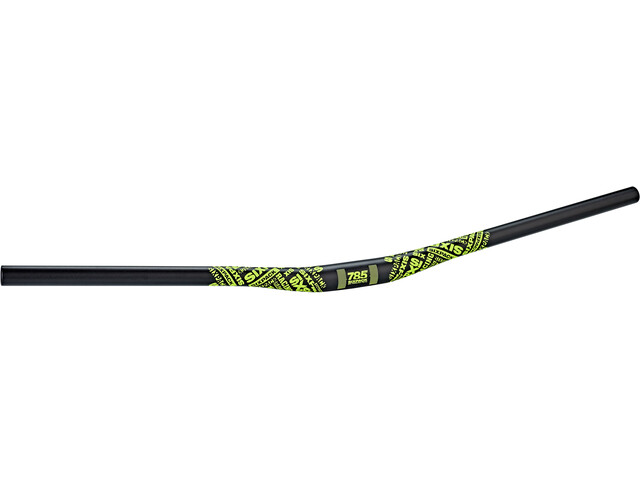 Sixpack Millenium 785 Handlebar Ø31,8mm black/neon-yellow